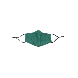 Face Mask with Filter Pocket - Emerald (2pcs)