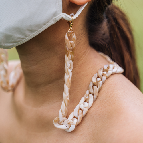 Chunky Chain | Earth | Face Mask Lace (60cm)