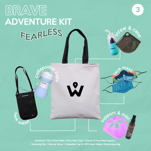 FEARLESS - Brave Adventure Kit