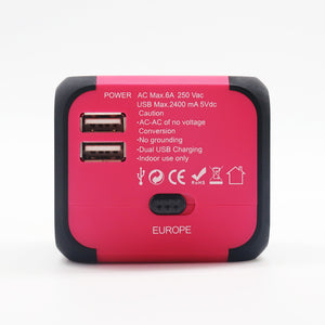 Pink Cube (Travel Adaptor)
