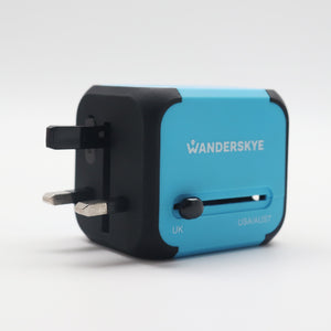 Blue Cube (Travel Adaptor)