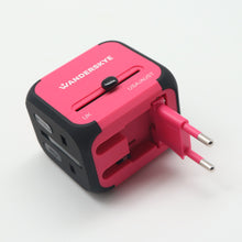 Load image into Gallery viewer, Pink Cube (Travel Adaptor)