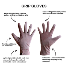 Load image into Gallery viewer, Grip Gloves (Purple)