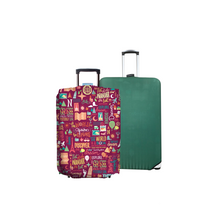 Load image into Gallery viewer, Quote Guru - Reversible Luggage Cover