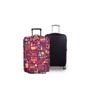 Quote Guru - Reversible Luggage Cover