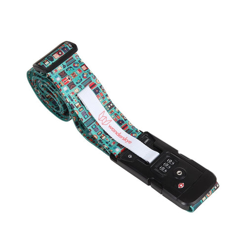 TSA Retro - Luggage Strap with Weighing Scale