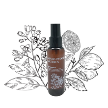 Load image into Gallery viewer, Sandalwood & Citrus | All-in-one Sanitizing Mist (100ml)