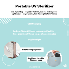 Load image into Gallery viewer, UV Portable Sterilizer