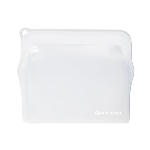 Clean Zip Pouch | White