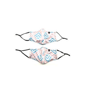 Face Mask with Filter Pocket - Serenity (2pcs)