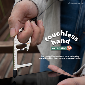 Touchless Hand Extension 2.0 - Silver