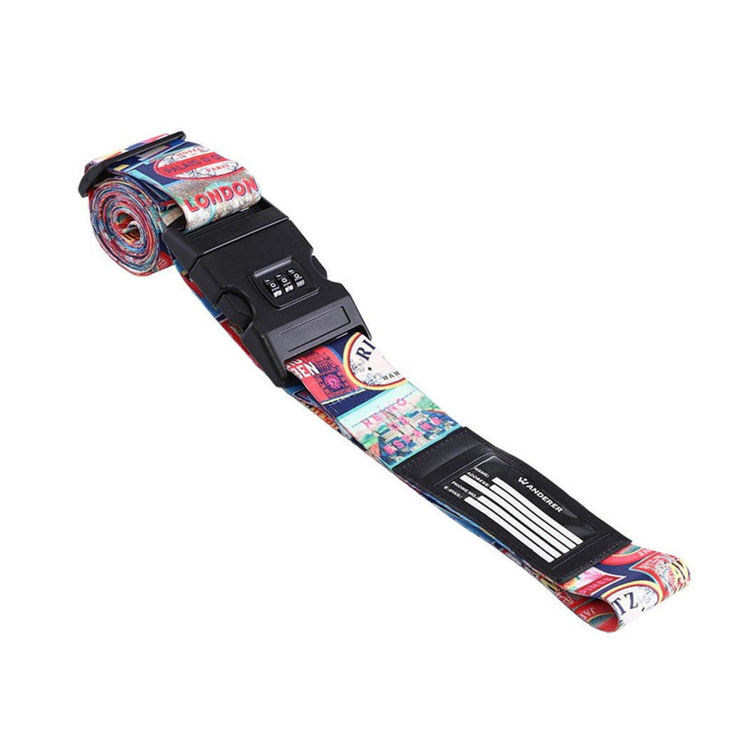 Travel Stamps - Luggage Strap