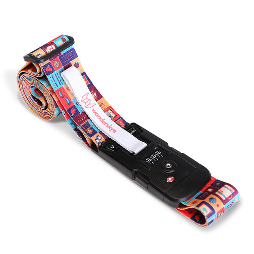 TSA Philippine Icons - Luggage Strap with Weighing Scale