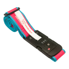 Load image into Gallery viewer, TSA Plain Pink - Luggage Strap with Weighing Scale