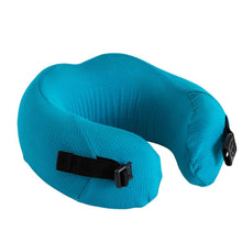 Load image into Gallery viewer, Compact Neck Pillow - Algiers Blue