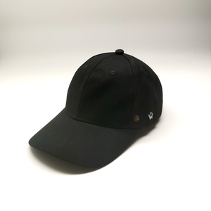 Baseball Cap with Detachable Face shield (Black)