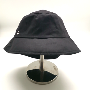 Bucket hat with Detachable Face shield (Black)