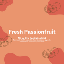 Load image into Gallery viewer, Fresh Passionfruit | All-in-one Sanitizing Mist (500ml)