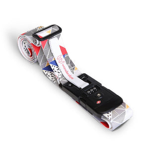 TSA Memphis - Luggage Strap with Weighing Scale