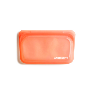Clean Zip Pouch | Orange