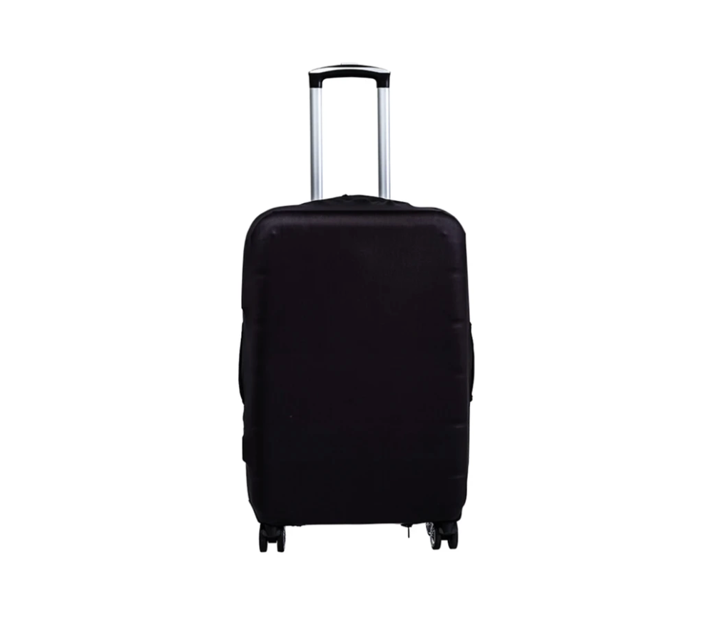 Plain Black - Luggage Cover