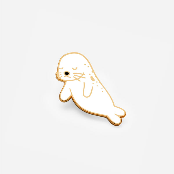 Floating Seal Enamel Pin - Seal the Deal
