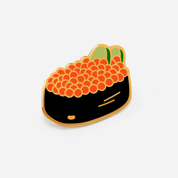 Gunkan Maki (Fish Roe) Sushi Hat/ Lapel Pin