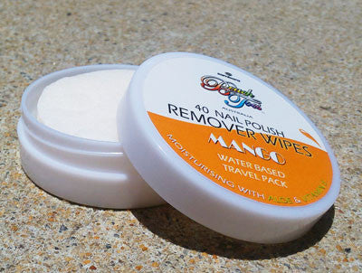 Beach Toes Nail Polish Remover Wipes - Mango - Sambora Beach Toes - Remover Wipes - 2