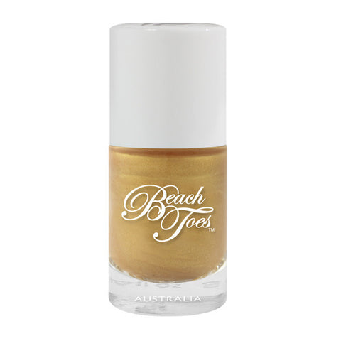 Heavy Metal Gold - Sambora Beach Toes - Nail Polish