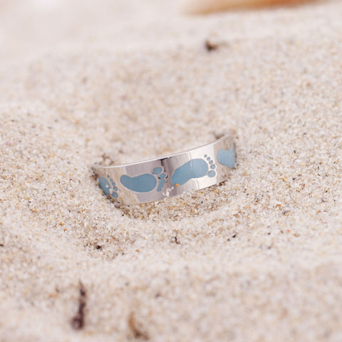 Baby Wave Toe Ring - Sambora Beach Toes - Toe Ring - 2