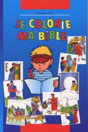 French - Children's Bible Story Colouring Book