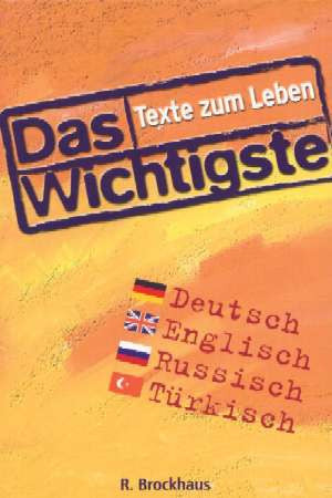 German/Eng/Russian/Turkish - What Matters (Texts for Life)
