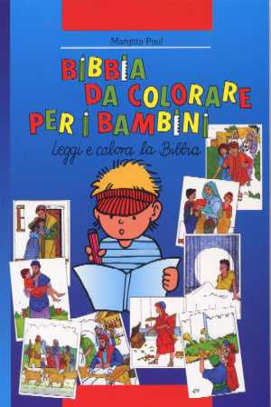 Italian - Children's Bible Story Colouring Book