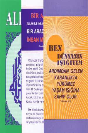 Turkish - Tracts (pkt 10)