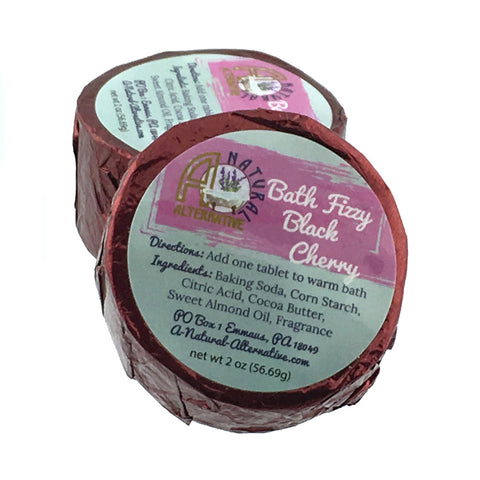 Black Cherry Bath Fizzy