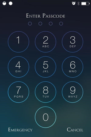Setting Up A Passcode On Your iPhone or iPad For Additional Security.