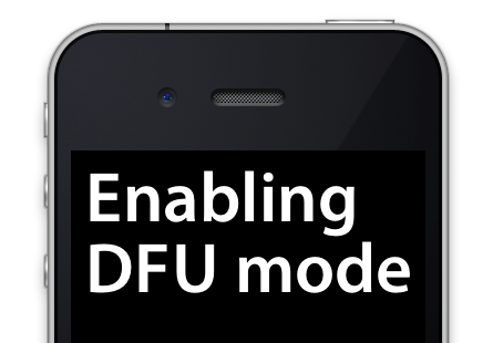 How To Put Your iPhone 6 , 6S or 7 Model Into DFU Mode