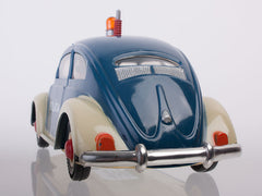 VW Beetle Police with friction vintage toy