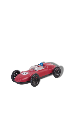 Racing car vintage toy