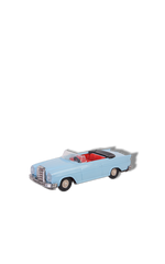 Convertible mercedes vintage toy with friction
