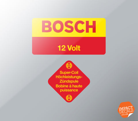 Bosch Coil Decal Set - 2 Part