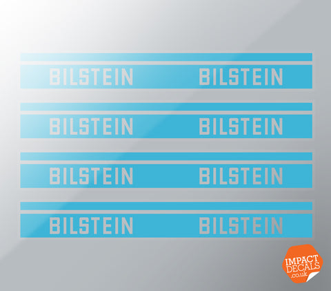 Bilstein Shock Absorber Strut Decals - Set of 4