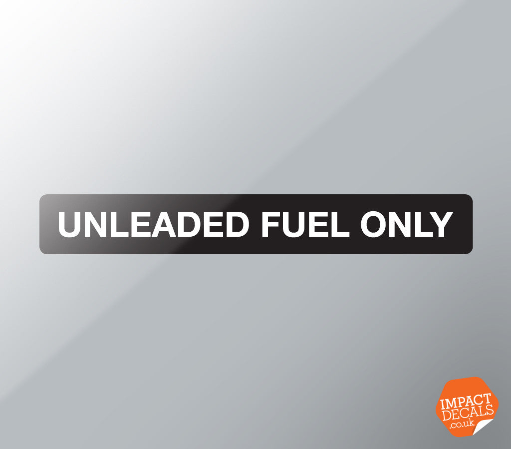 Unleaded Fuel Only Decal ( 944 / 928 )