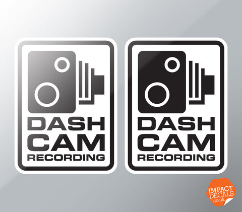 Dashcam Recording Body Decal #1
