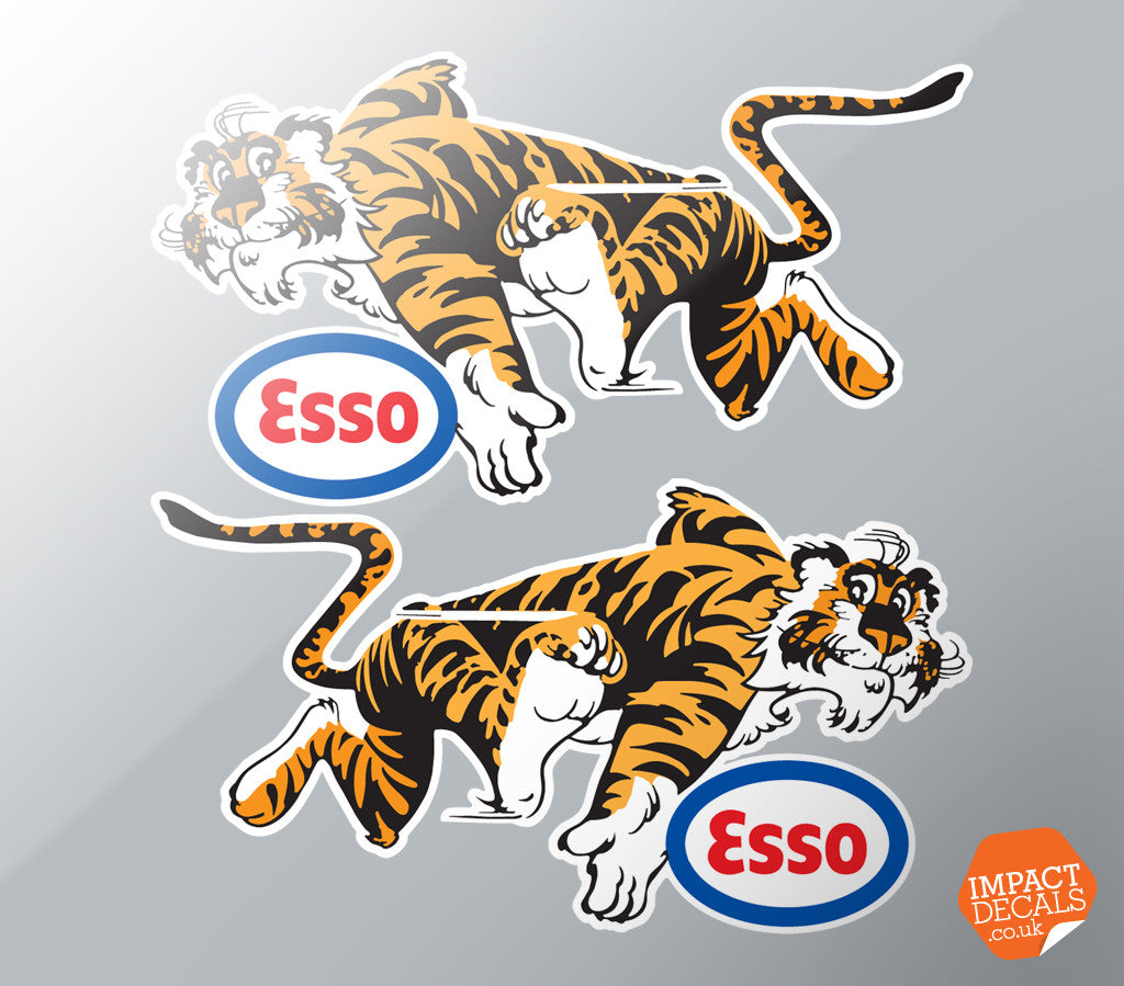 Esso Tiger Decals