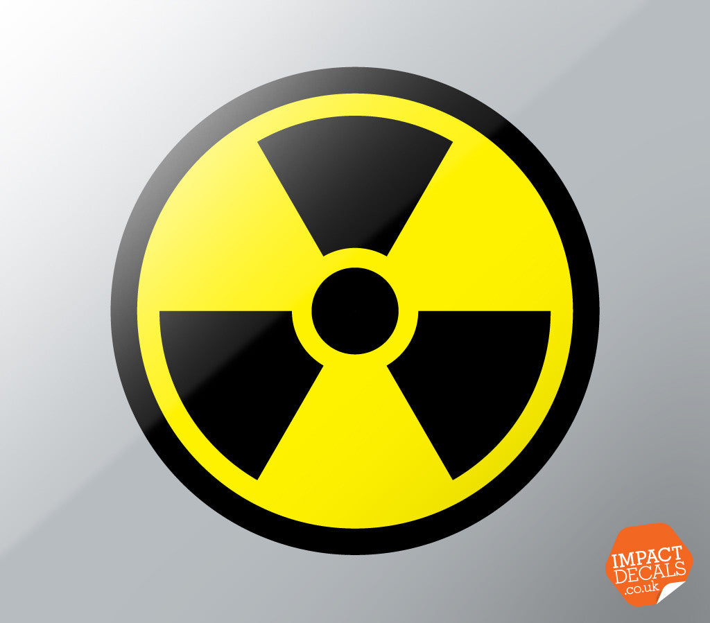 Radioactive Roundels - Radiation Warning Symbols