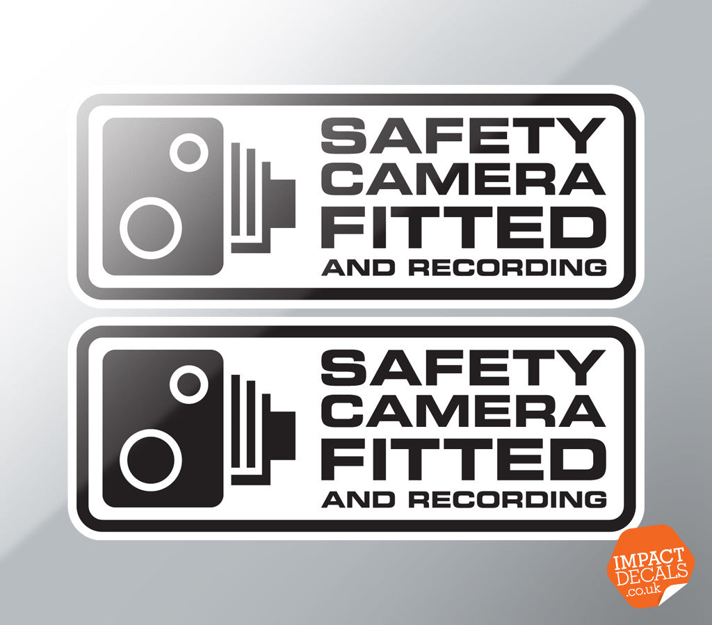 Safety Camera Fitted Decal Pair