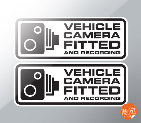 Vehicle Camera Fitted Decal - Pair