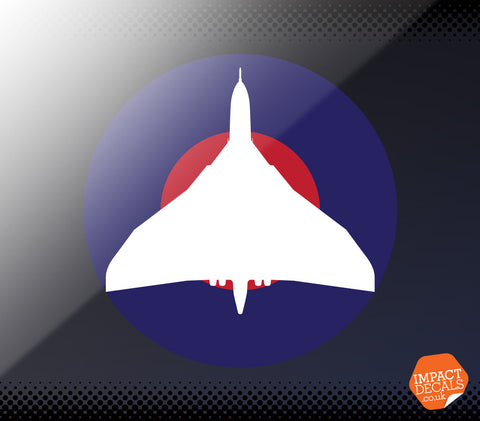 Vulcan Bomber Window Decal