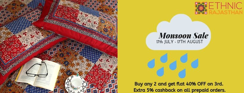 ethnic rajasthan monsoon sale